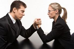 férfi és nő szkander