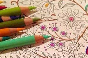 Stressz és szorongás ellen színezés