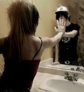 girl-and-boy,-mirror,-touch,-love,-emo,-valediction-140962
